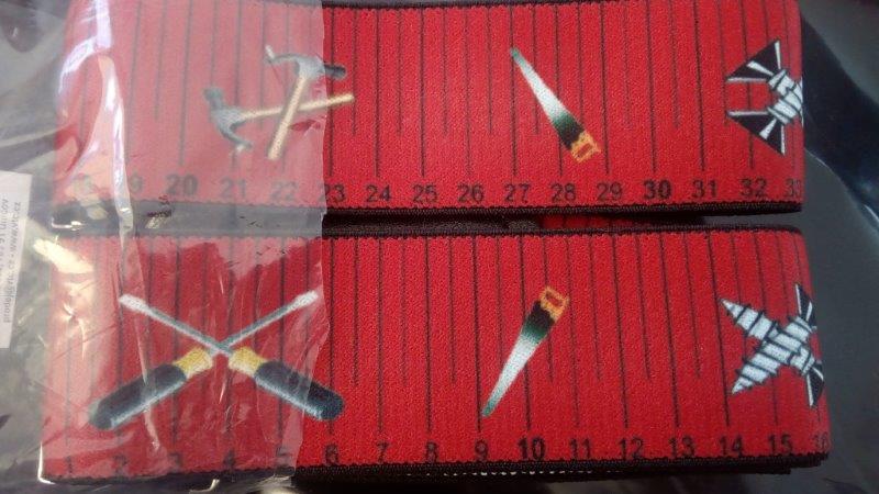 Pánské šle - kšandy 50 mm Y 120 cm povolání stolař