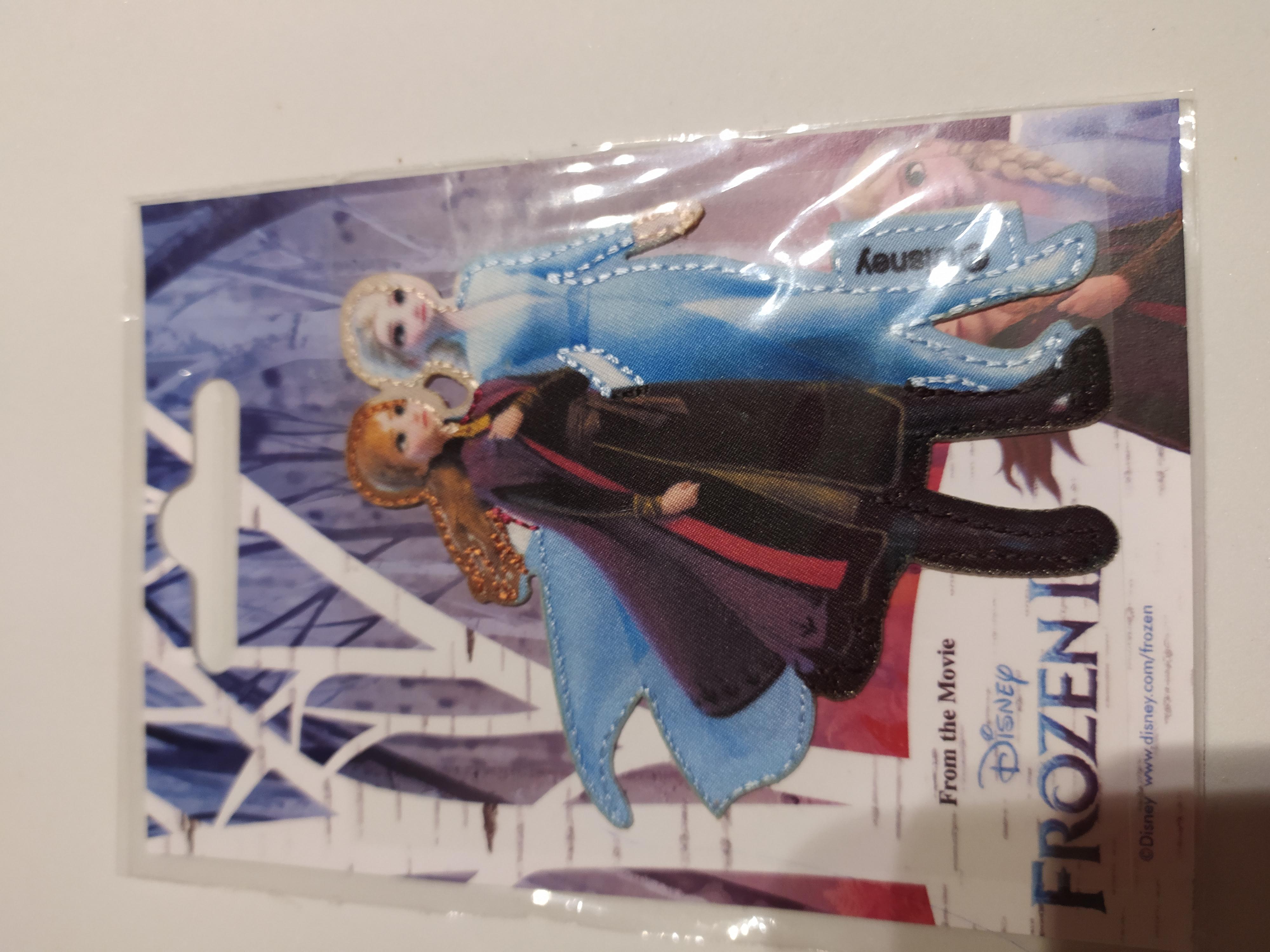 Aplikace nažehlovací Ledové království Elsa a Anna