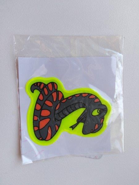 Samolepky reflexní zvířátka - had