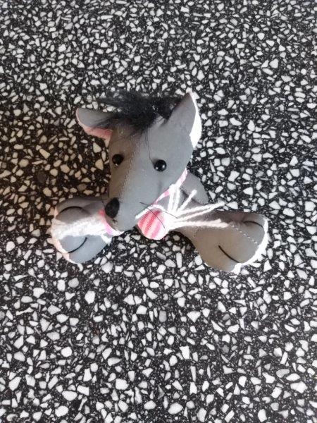 Přívěsky reflexní zvířátka - myška