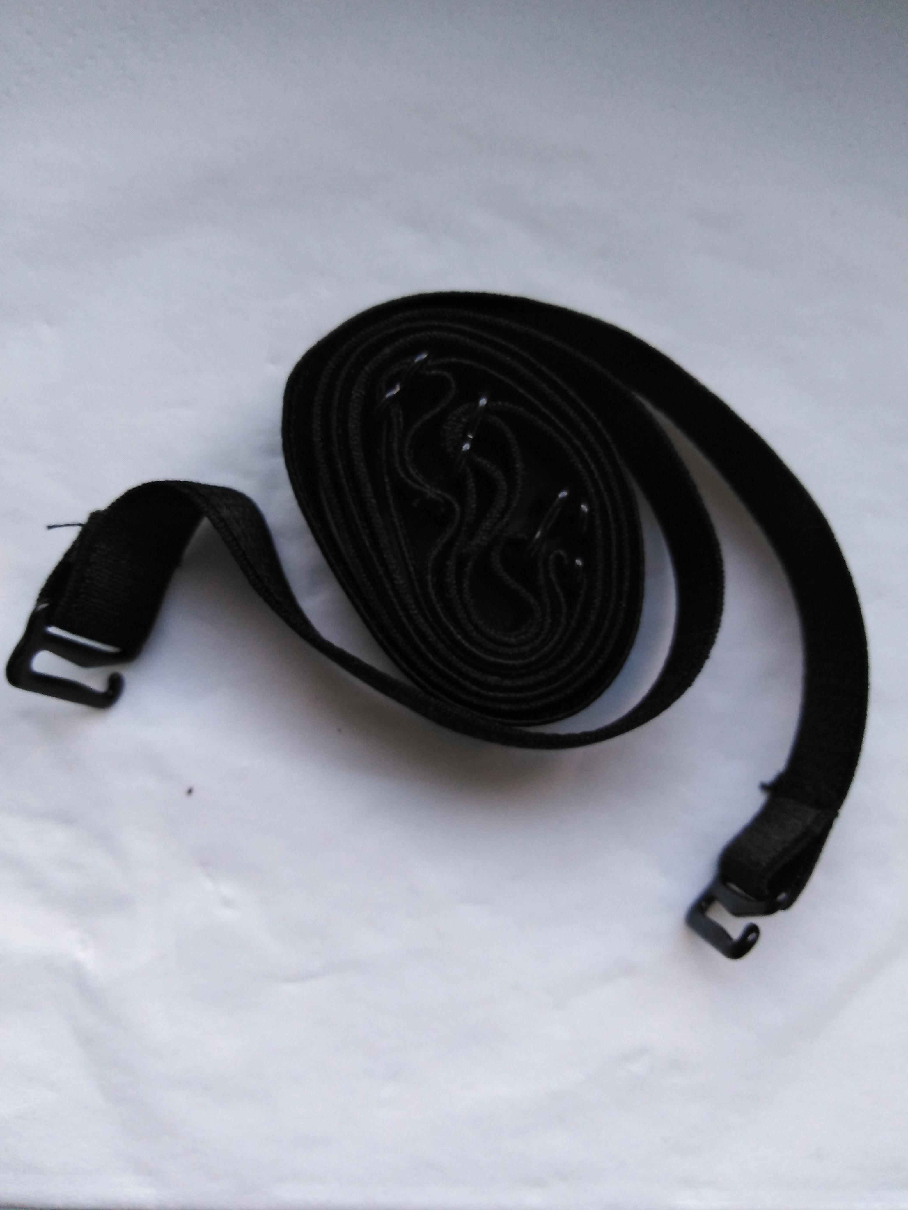 Ramínko pružné elastické 12 mm černé
