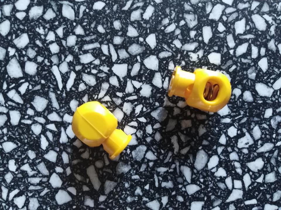 Brzdička sytě žlutá