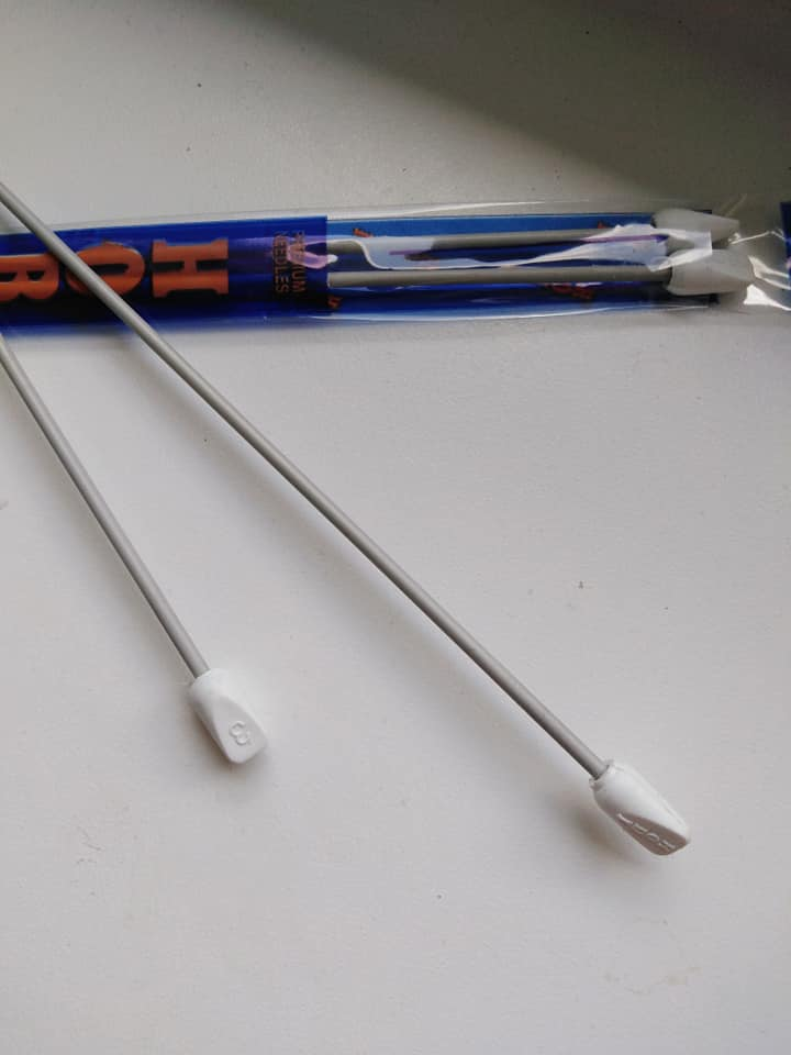 Jehlice pletací 3 mm rovné