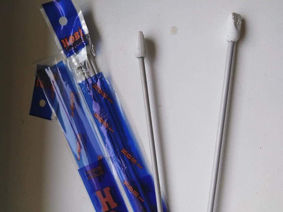 Jehlice pletací 2,5 mm rovné