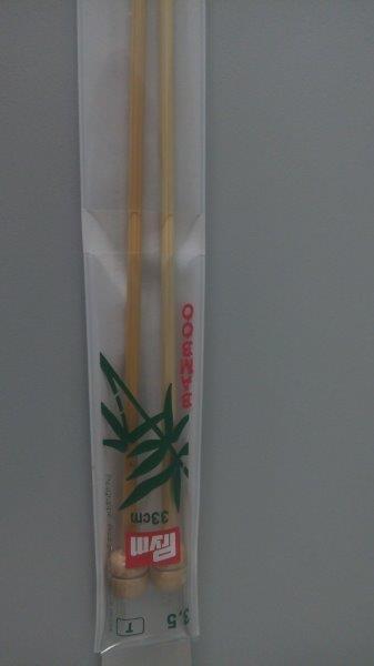 Jehlice pletací 2,5 mm bambus