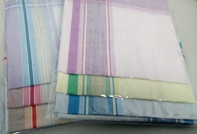 Kapesník dámský barevný 6 kusů v balení