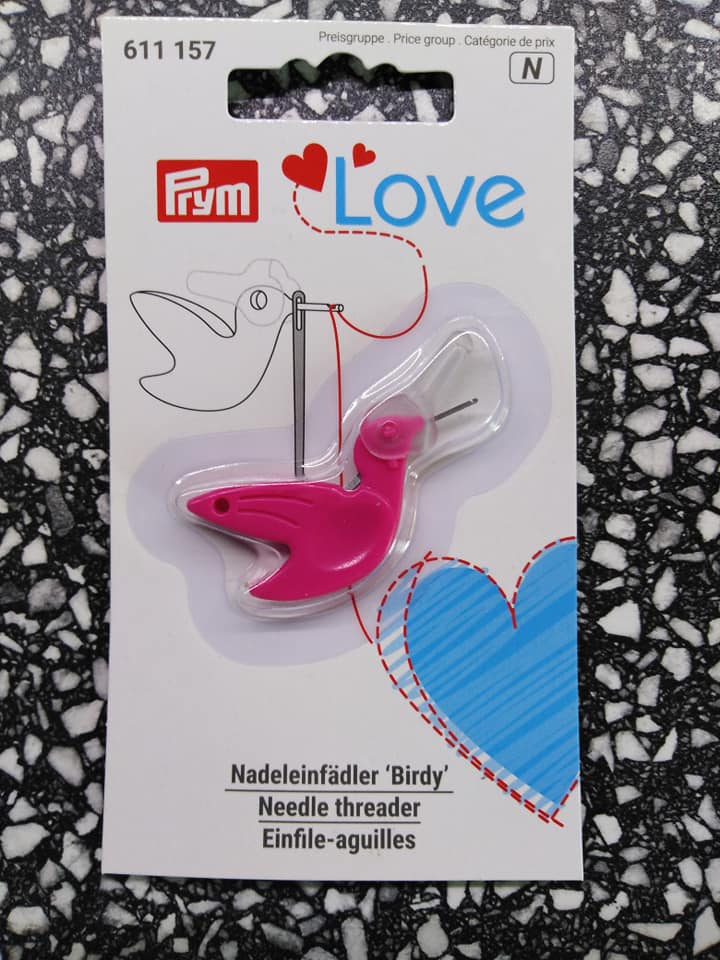 Navlékač jehel Birdy Prym Love