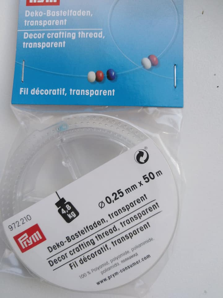 Vlákno dekorační 0,25 mm - 50 m
