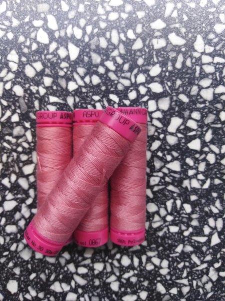 Nitě jeansové ASPO 30 m tmavě růžová 867