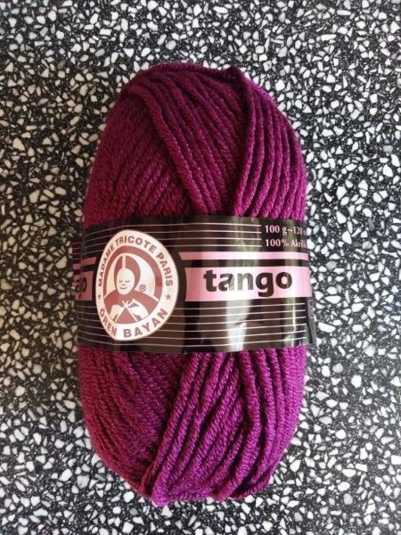 Příze Tango tmavý cyklámen 052