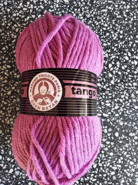 Příze Tango světlý cyklámen 042