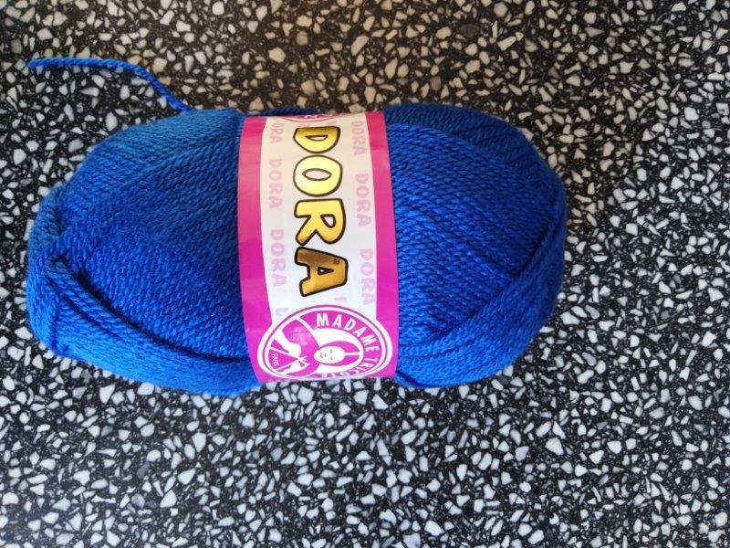 Příze Dora královská modř 016