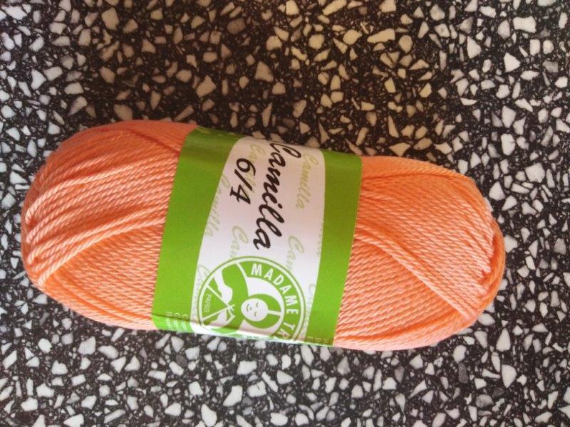 Příze Camilla oranžová 4912
