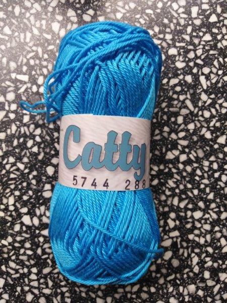Příze Catty modrý tyrkys 5744
