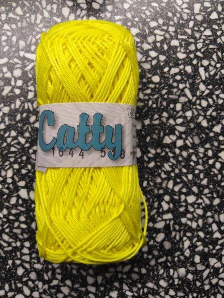 Příze Catty citronová 1644