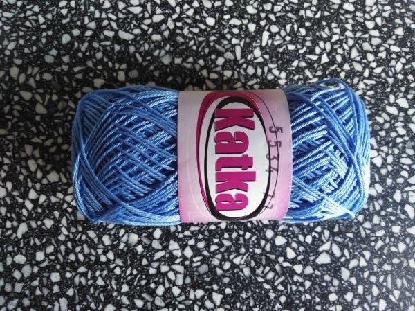Příze Katka blankytná modř 5534