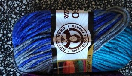 Příze Tango Batik 509 - melír 9