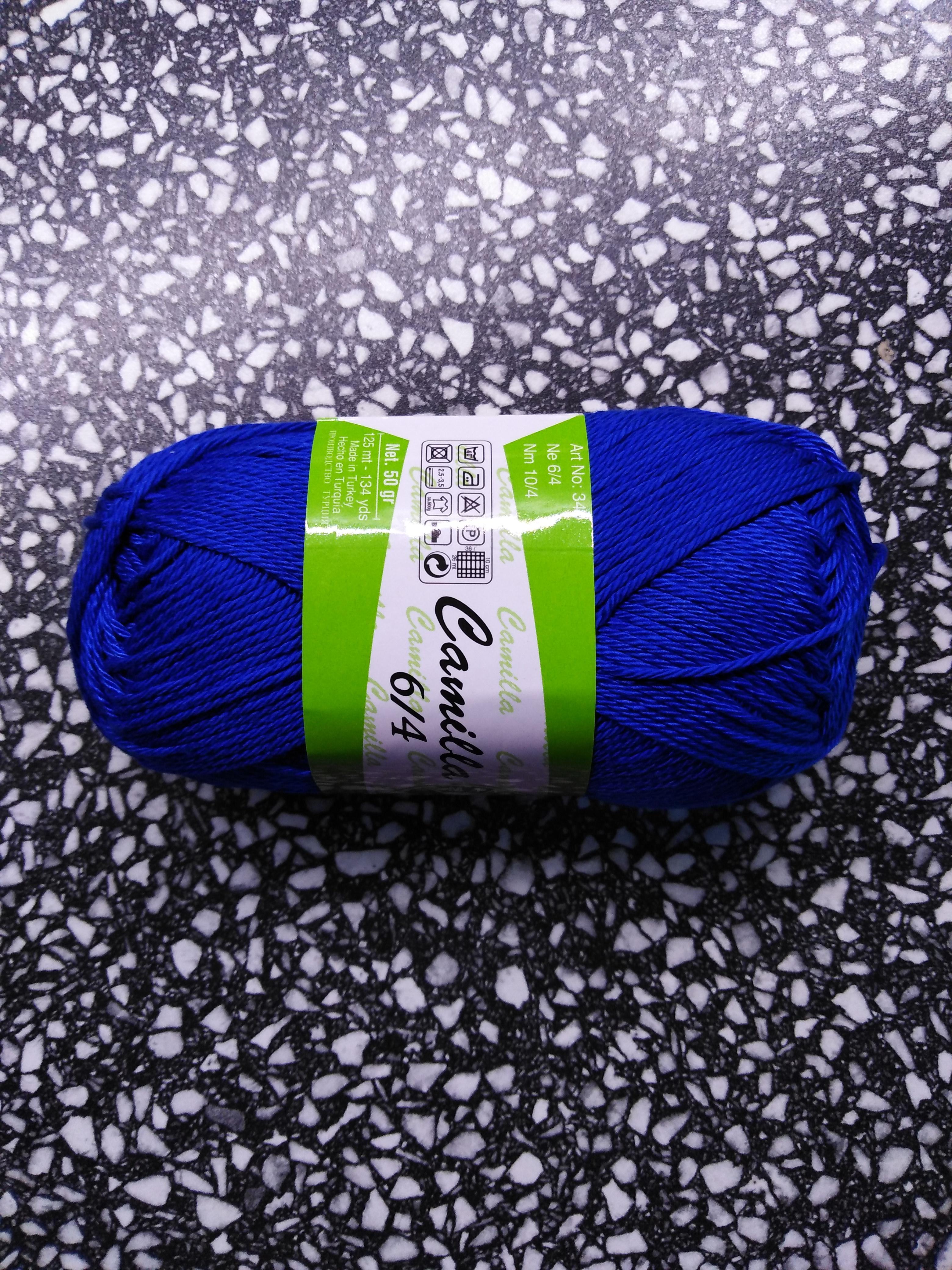 Příze Camilla královská modř 4915