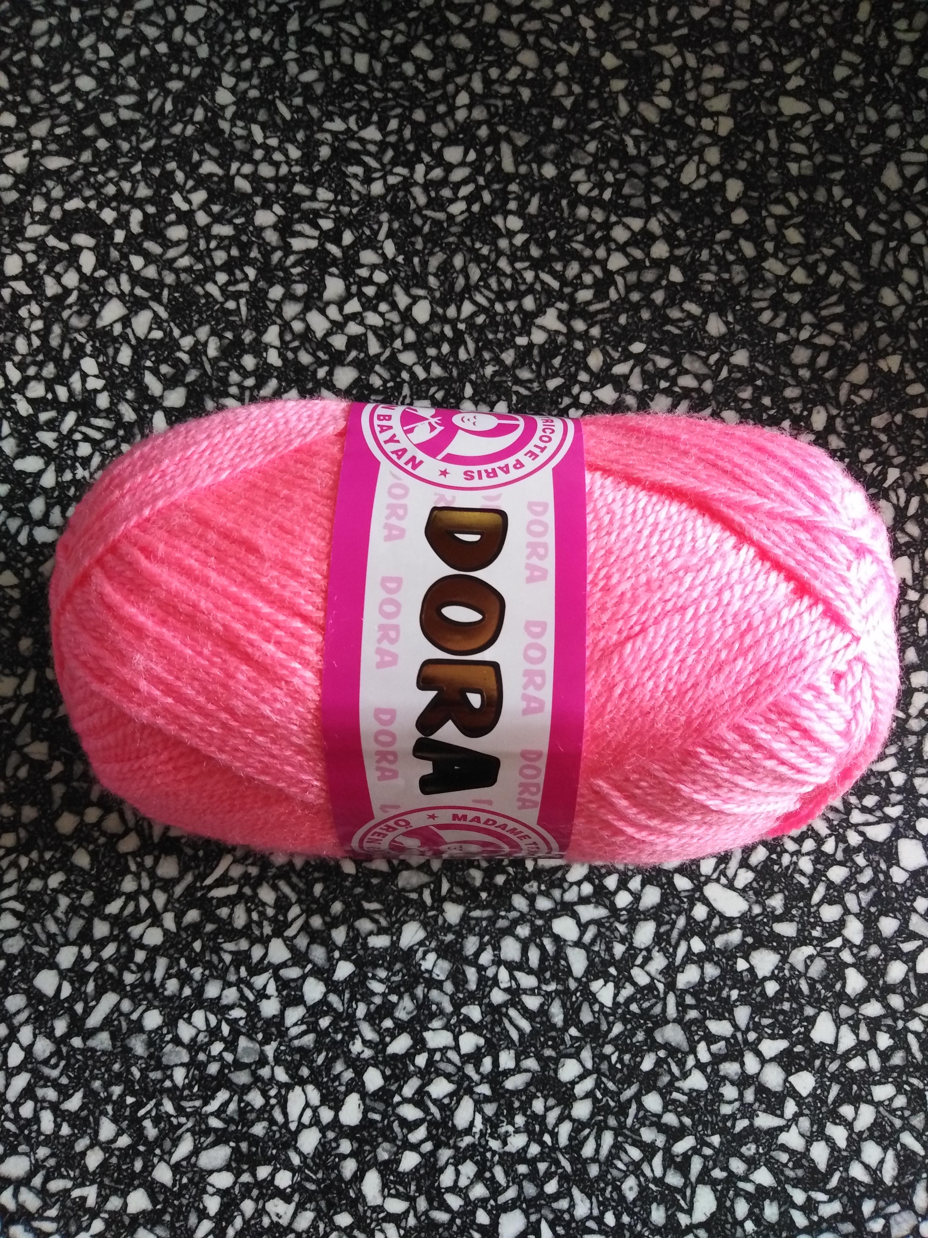Příze Dora jasná růžová 040