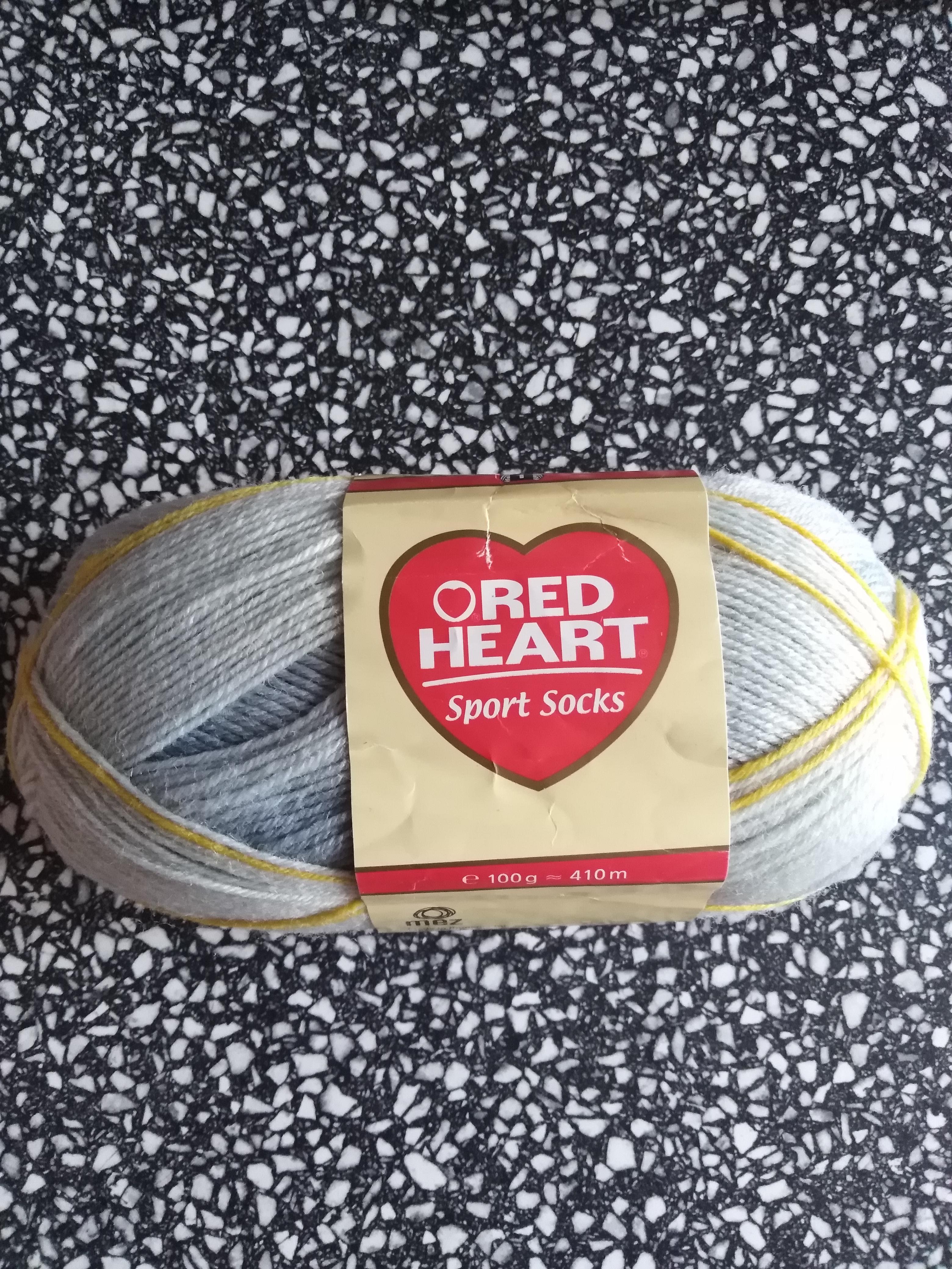 Příze ponožková RED HEART SPORT SOCKS bledá modř 7095