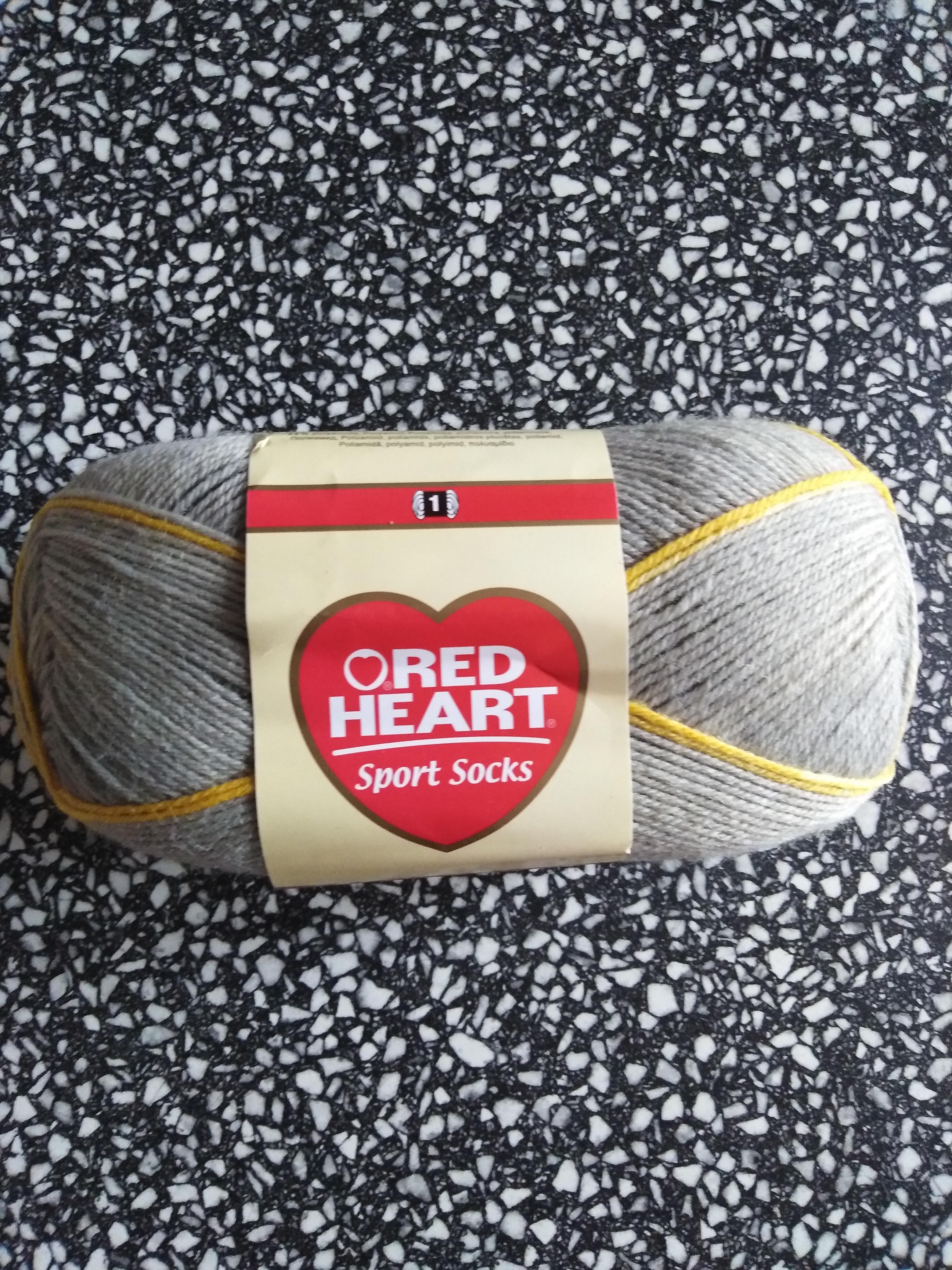 Příze ponožková RED HEART SPORT SOCKS antracit 7098