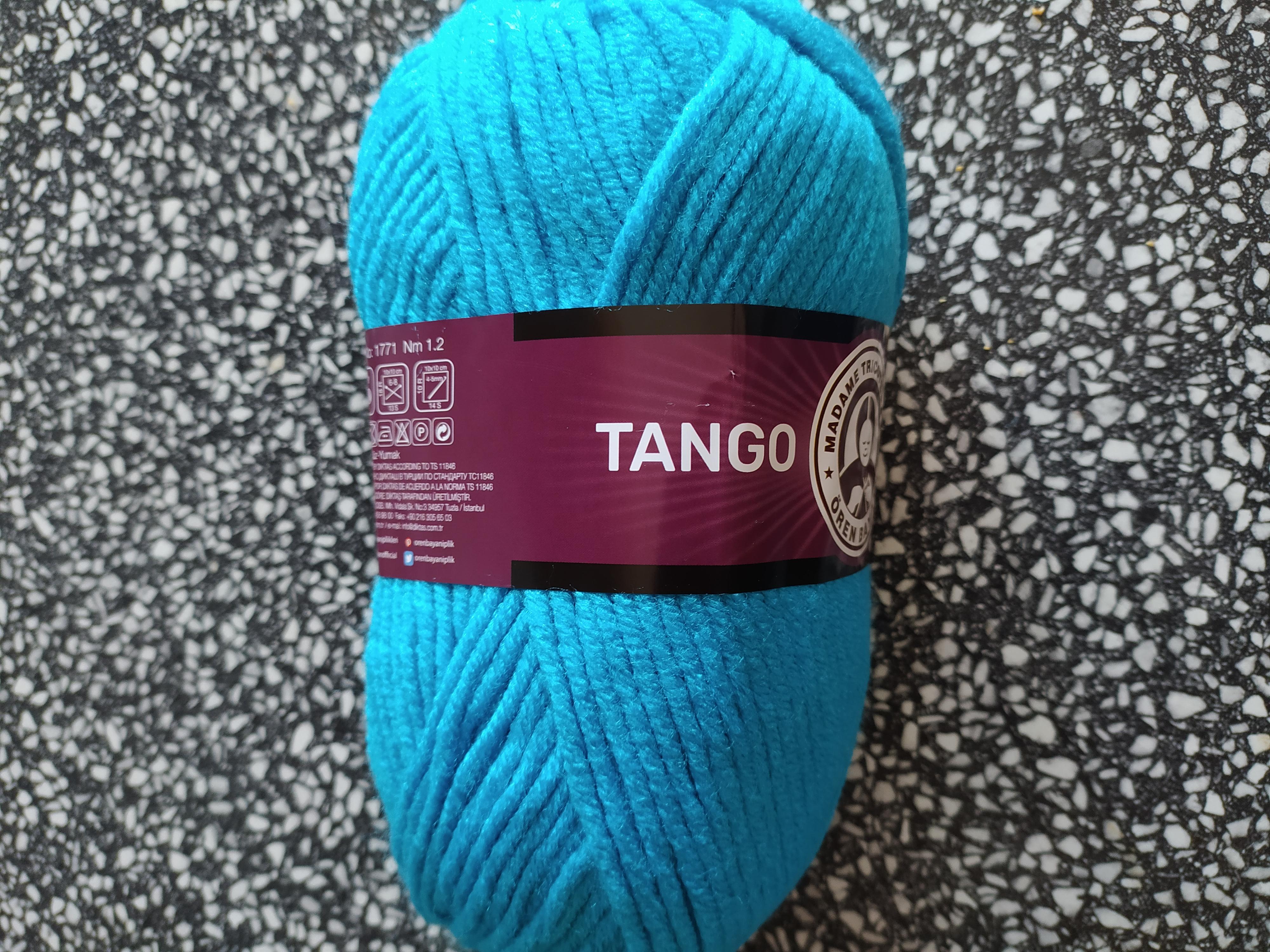 Příze Tango kalifornská modř 025