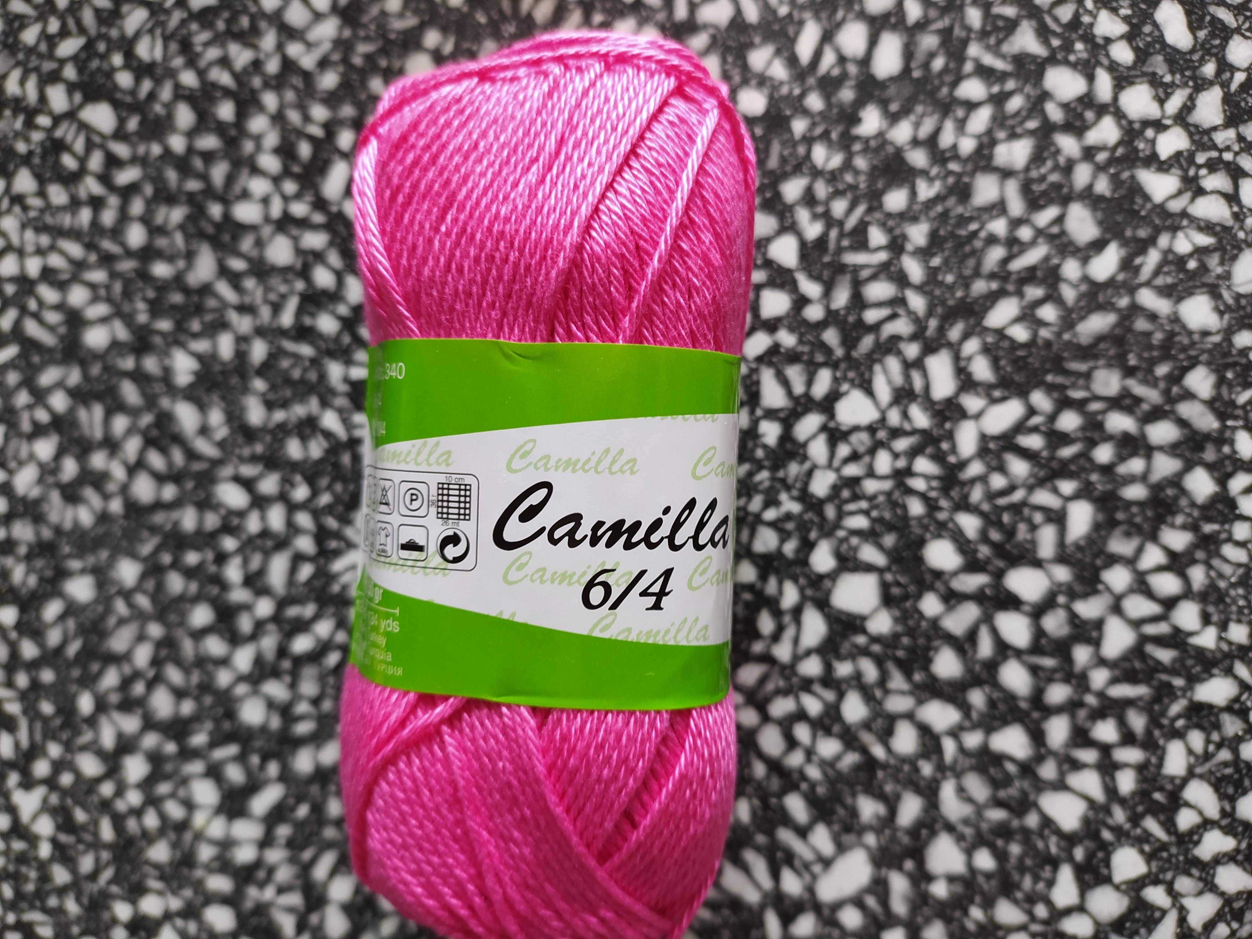 Příze Camilla Barbie růžová 4947