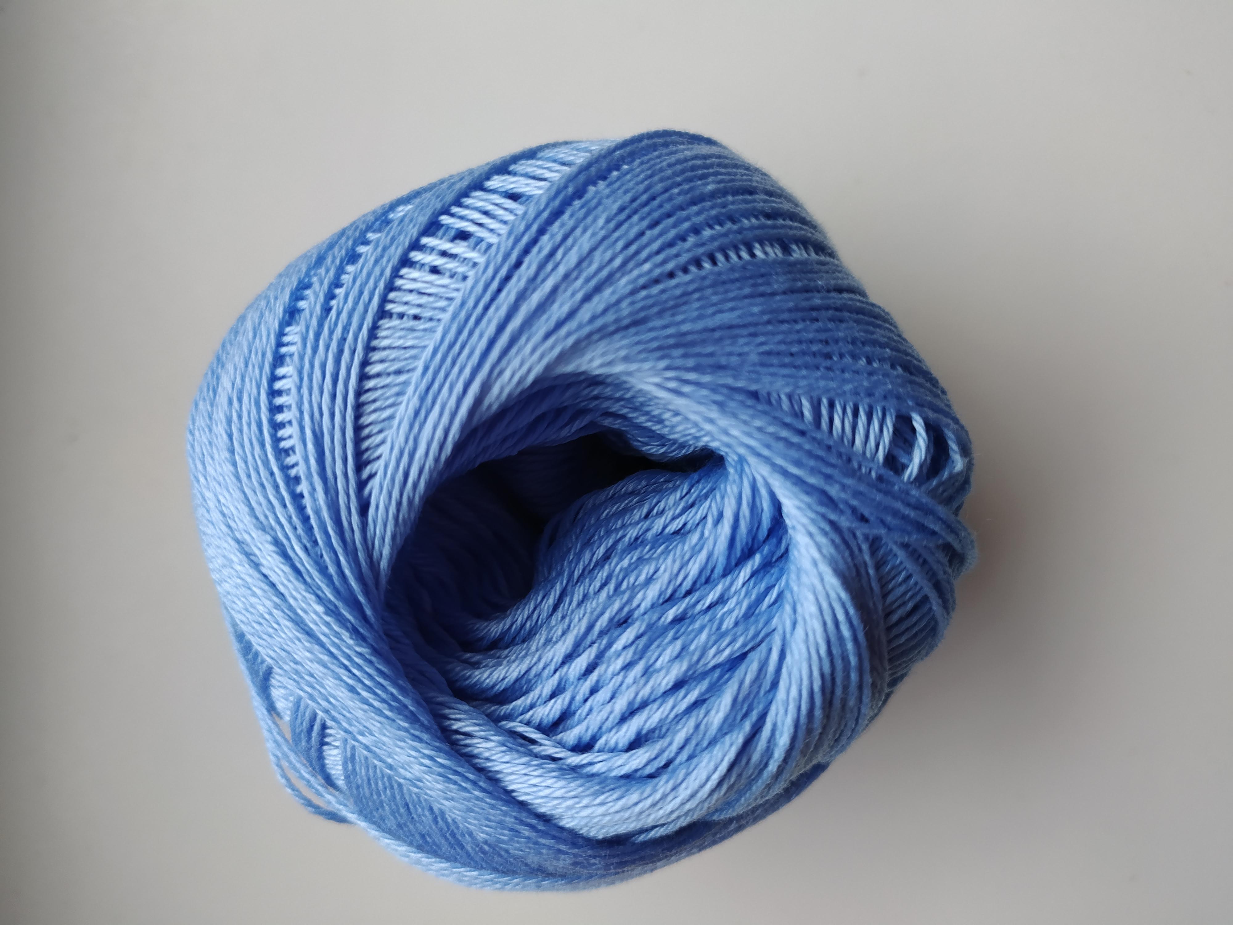 Příze Sněhurka blankytná modř 5534