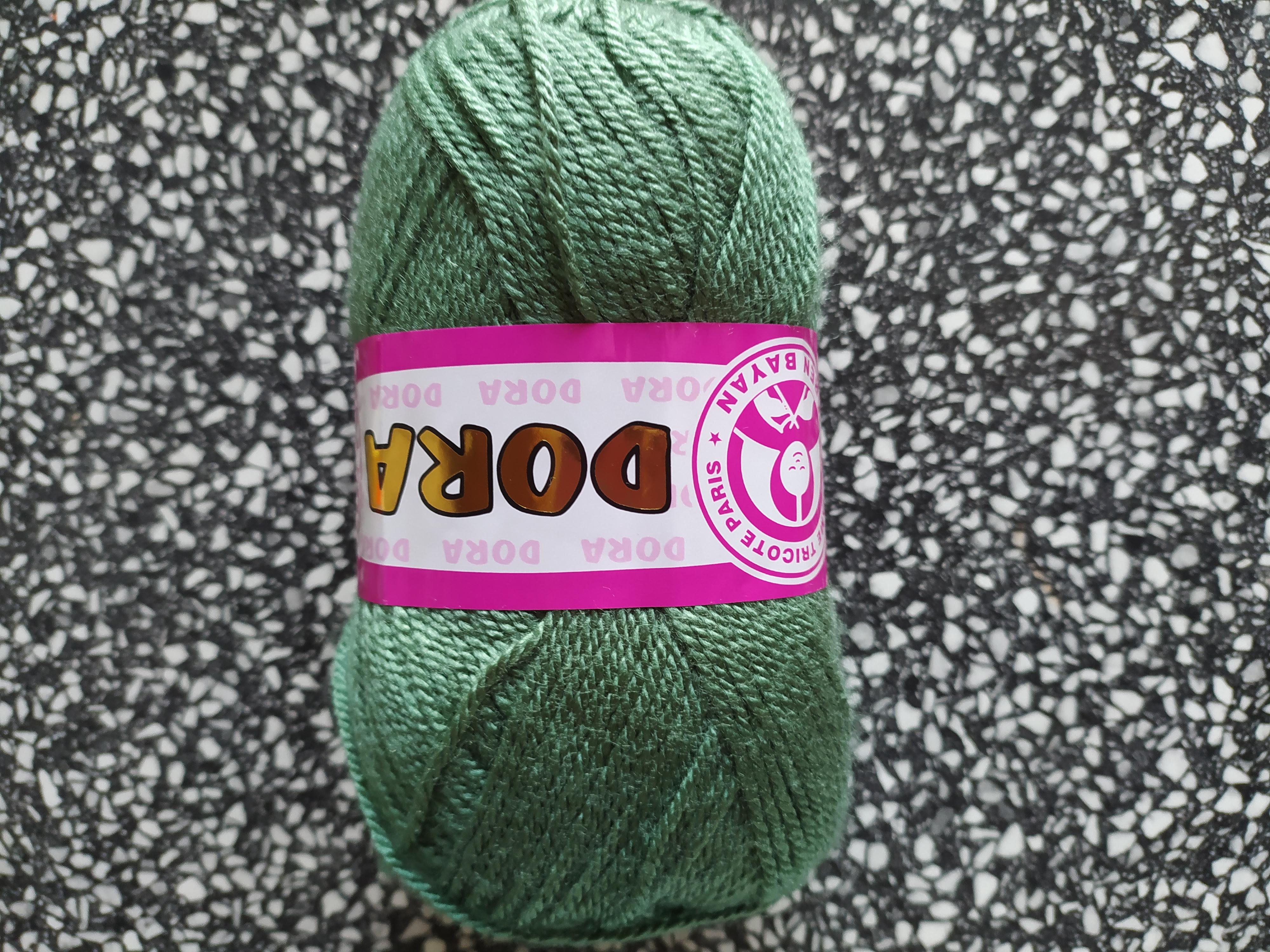 Příze Dora mechová zeleň 132