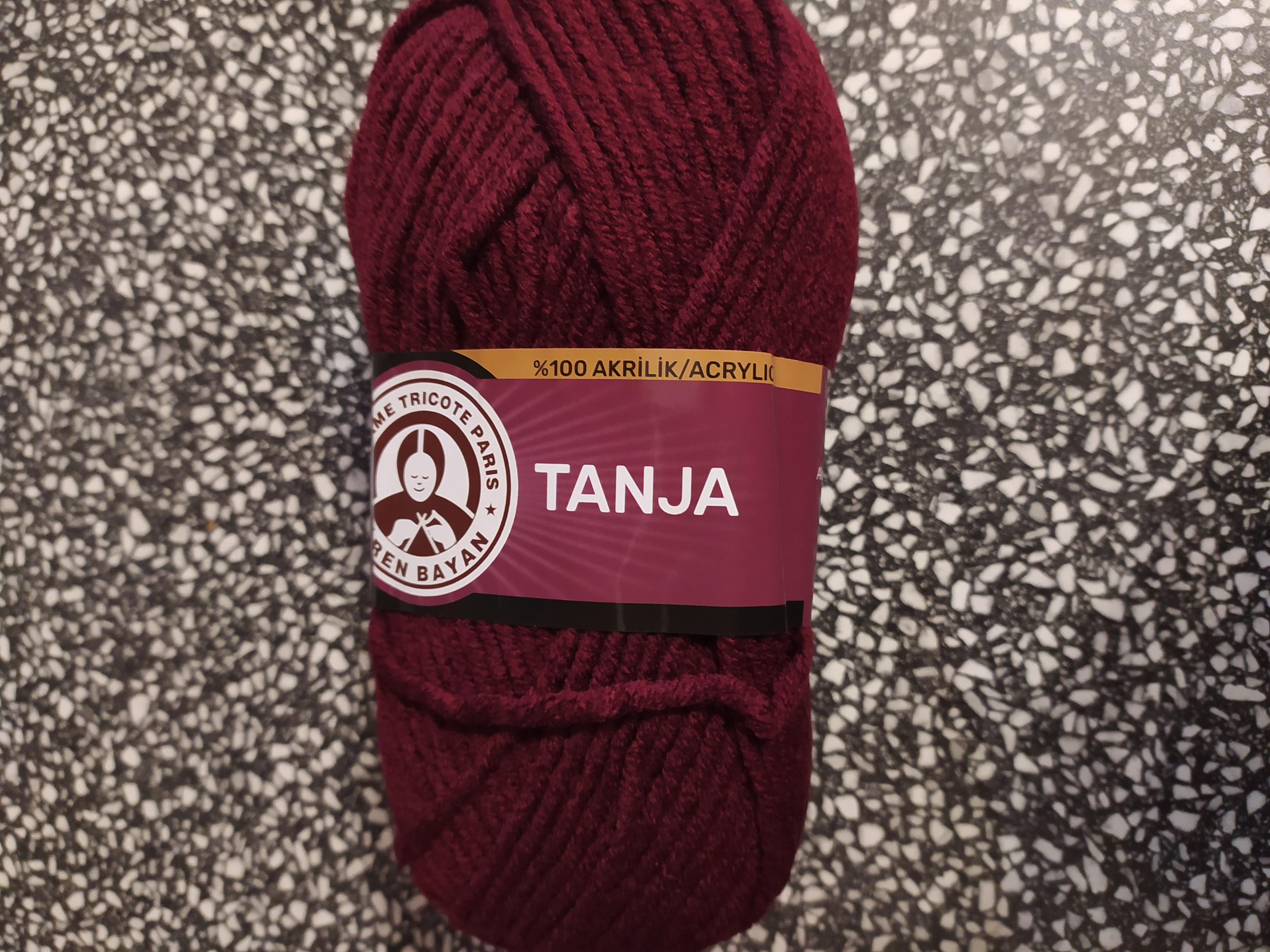 Příze Tango/Tanja bordó 035