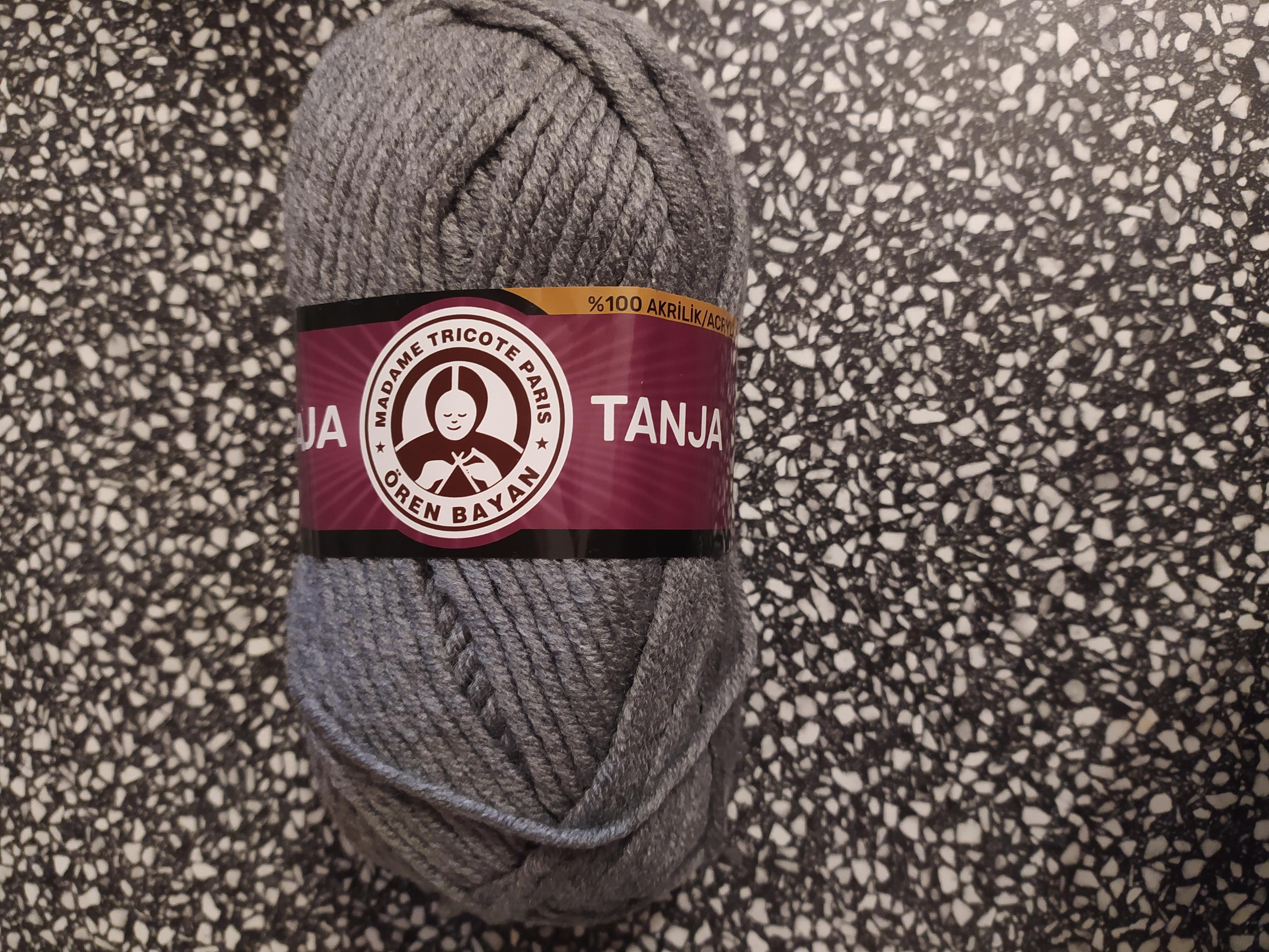 Příze Tango/Tanja šedá 008