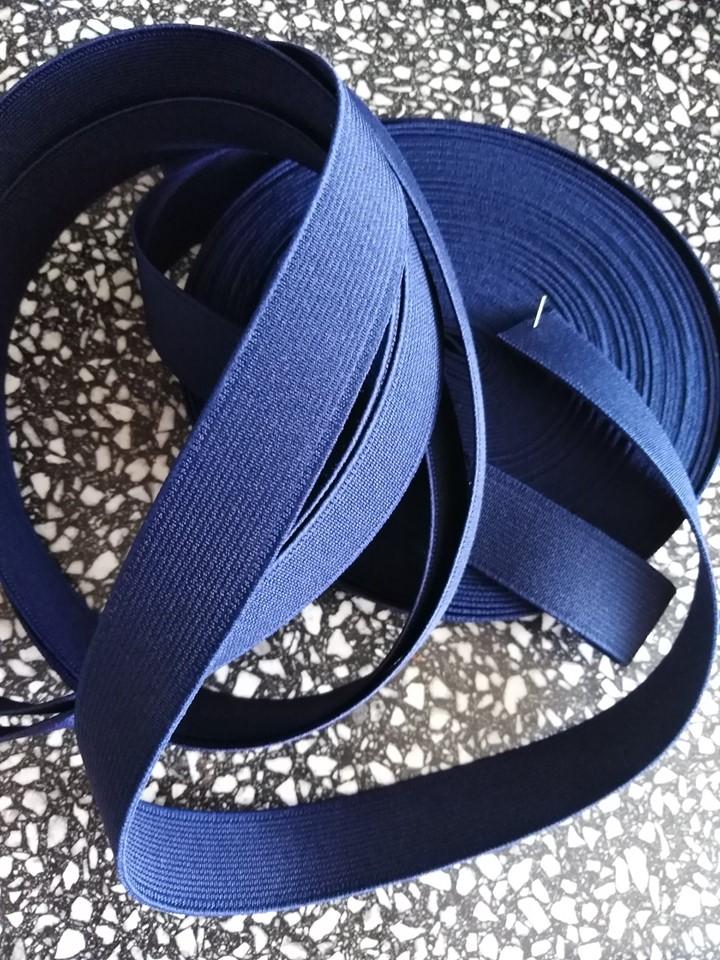 Pruženka dětská 20 mm tmavě modrá