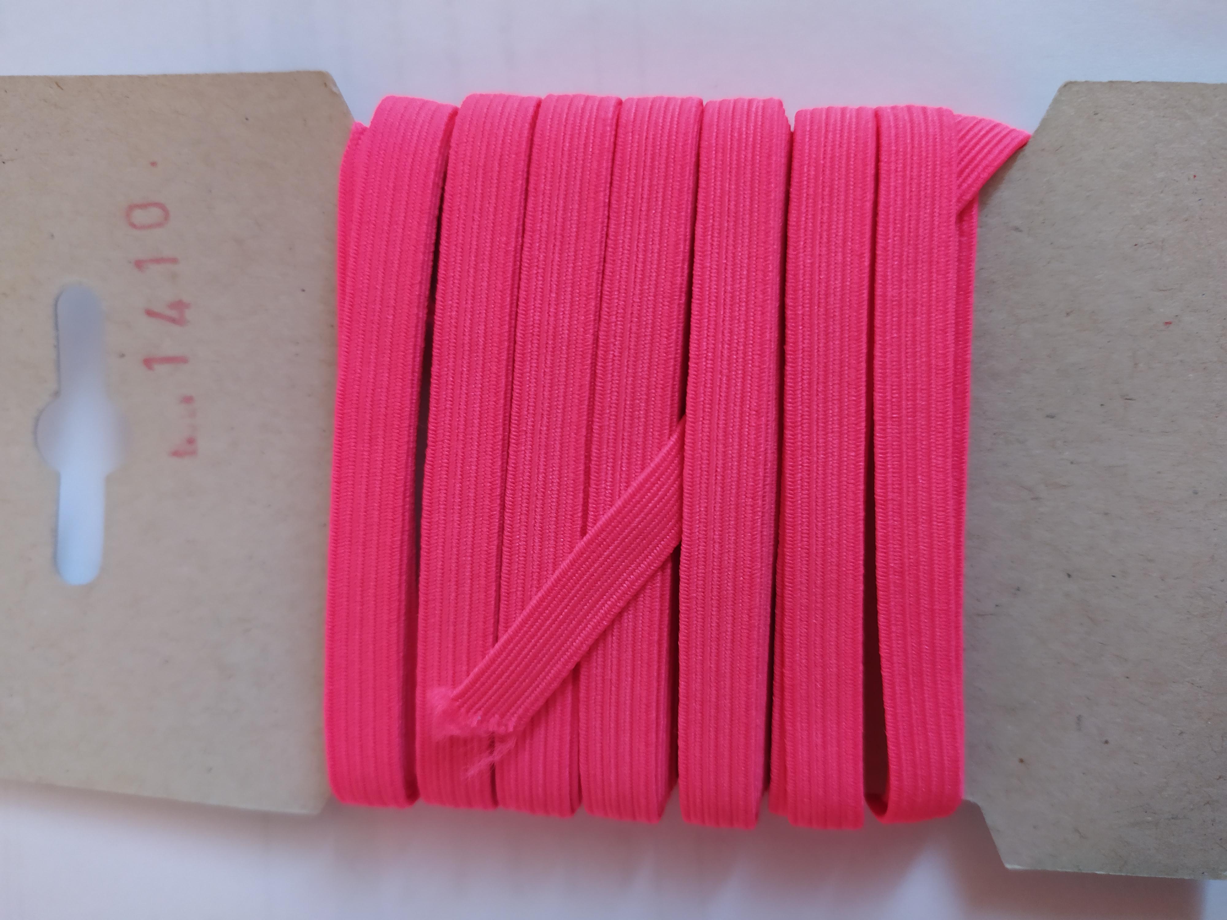 Pruženka 6,6 mm - karta 5 reflexní růžová