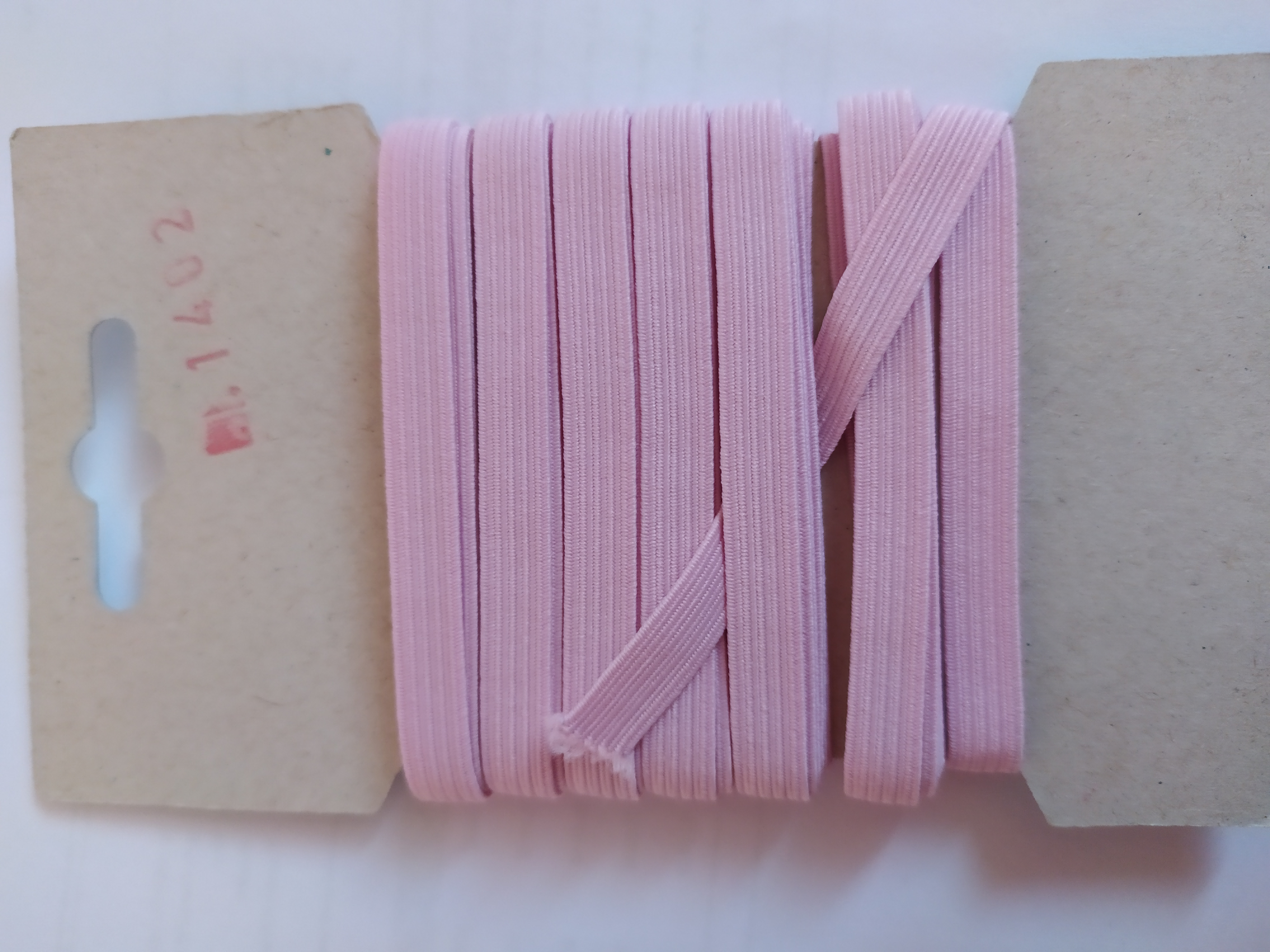 Pruženka 6,6 mm - karta 5 růžová