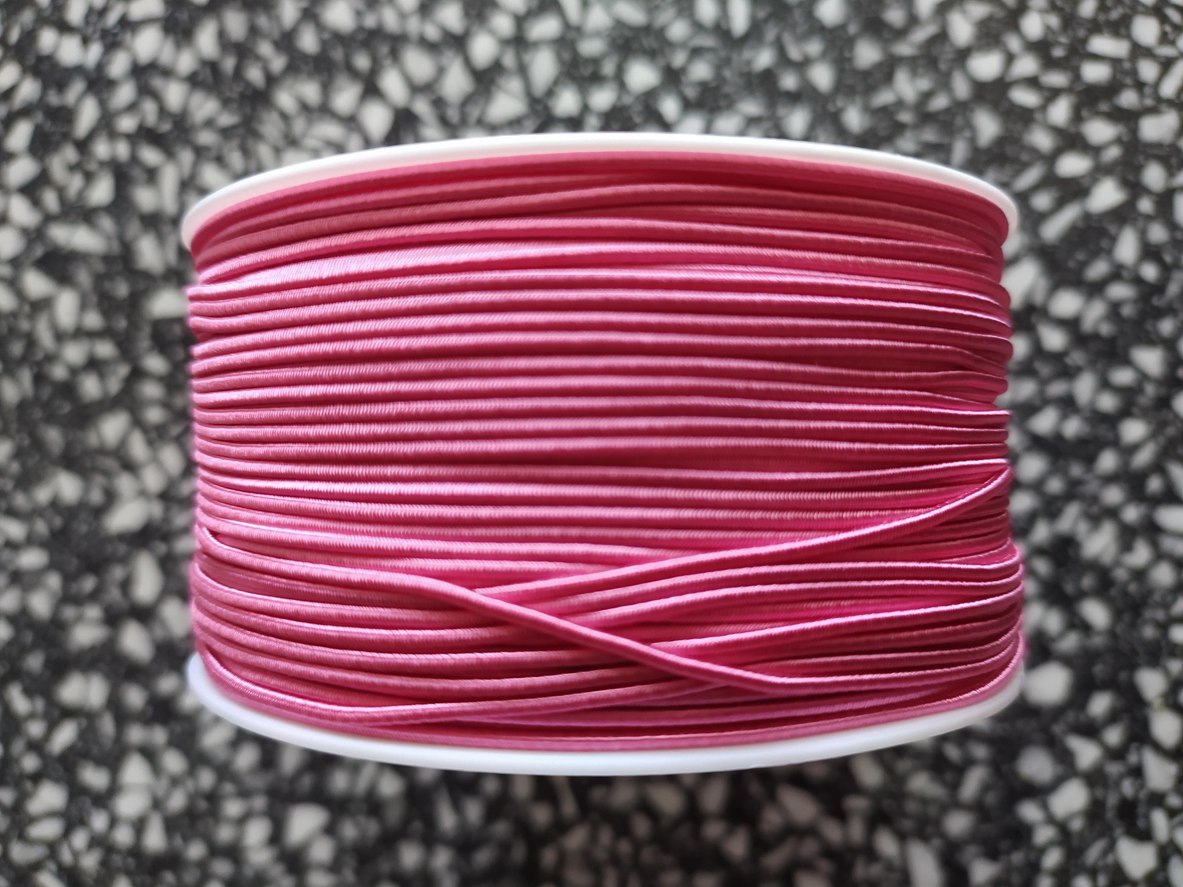 Klobouková guma 1,2 mm růžová