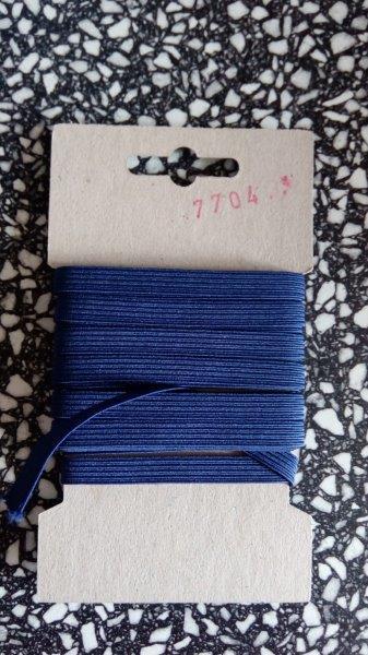 Pruženka 6,6 mm - karta 5 m tmavě modrá