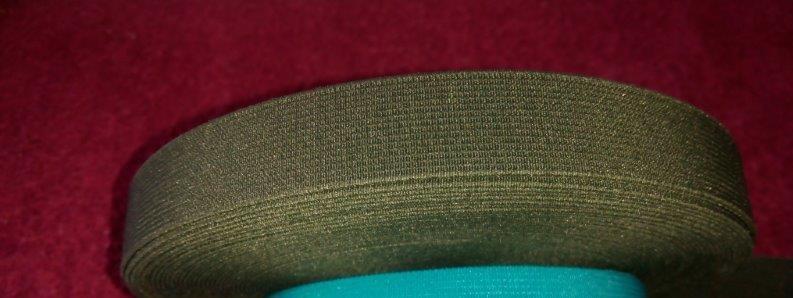 Pruženka dětská 20 mm khaki