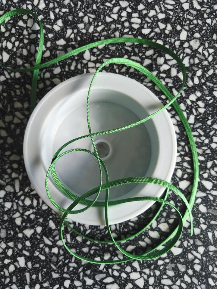 Dutinka šňůra 4 mm jarní zeleň