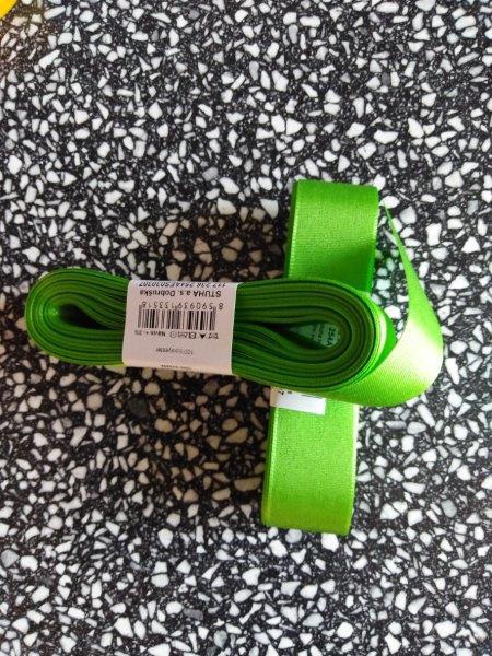 Stuha taftová 25 mm jarní zeleň