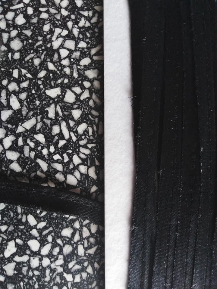 Paspulka saténová 10 mm černá