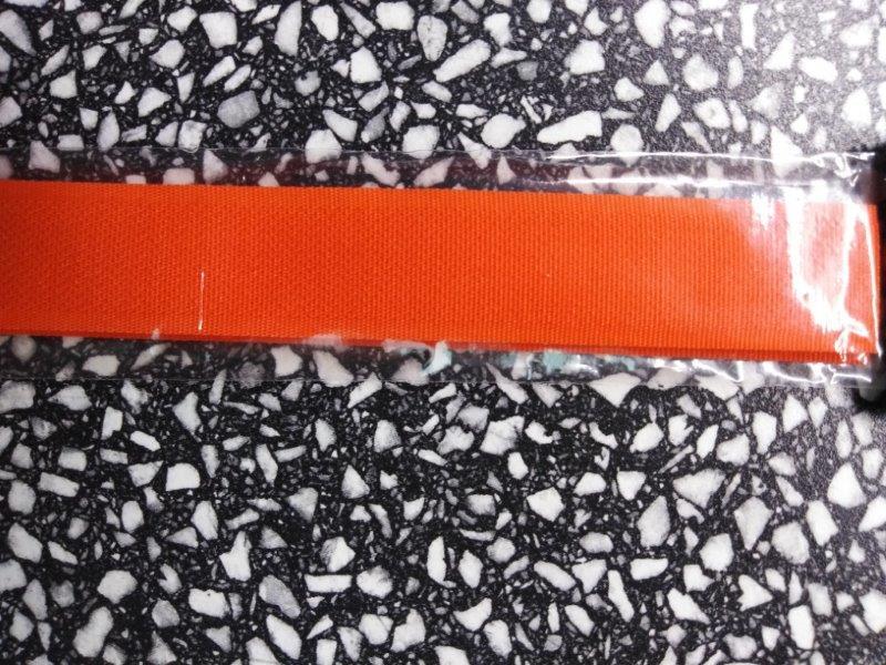 Stuhový uzávěr 20 mm ks 15 cm oranžový