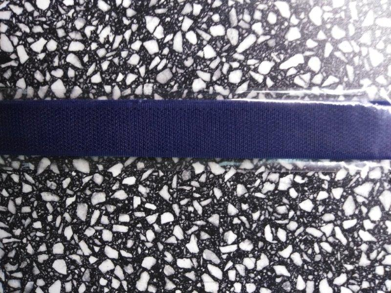 Stuhový uzávěr 20 mm ks 15 cm námořní modrá