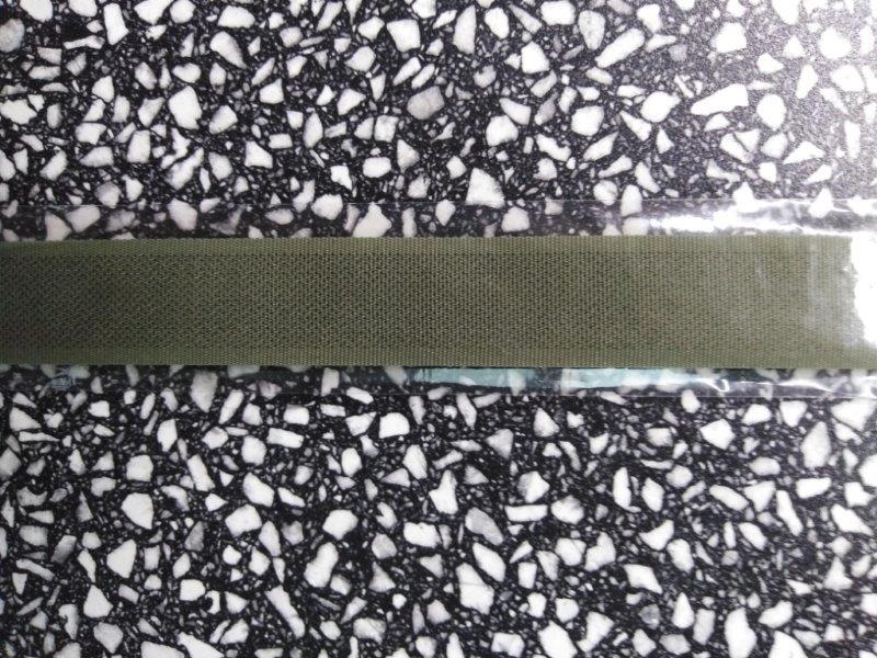 Stuhový uzávěr 20 mm ks 15 cm khaki