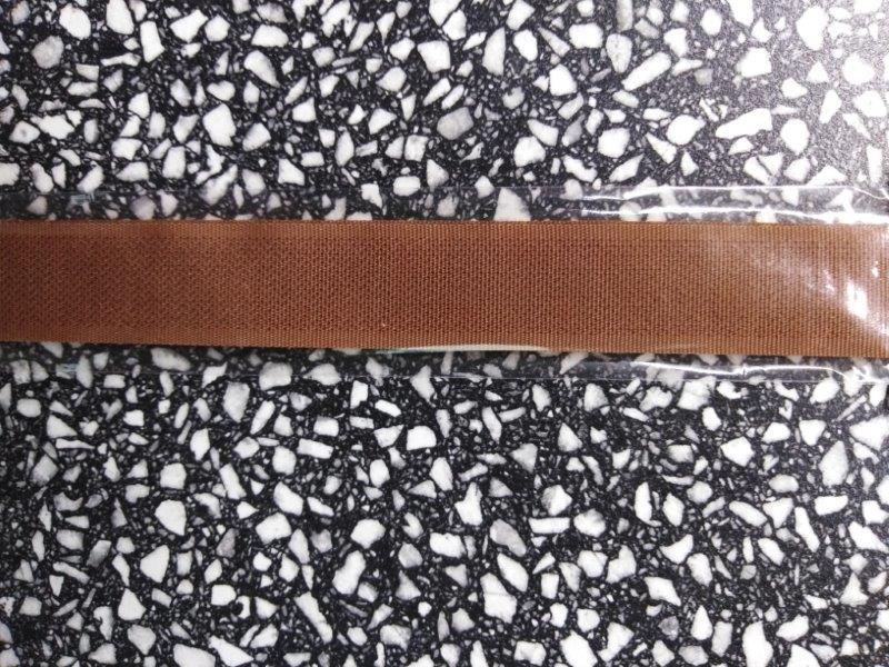 Stuhový uzávěr 20 mm ks 15 cm tmavě hnědý