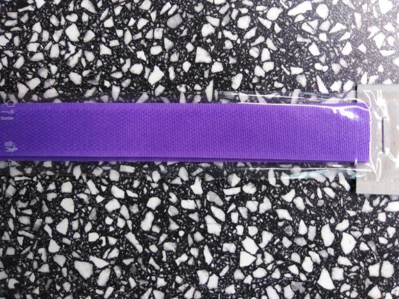 Stuhový uzávěr 20 mm ks 15 cm fialový