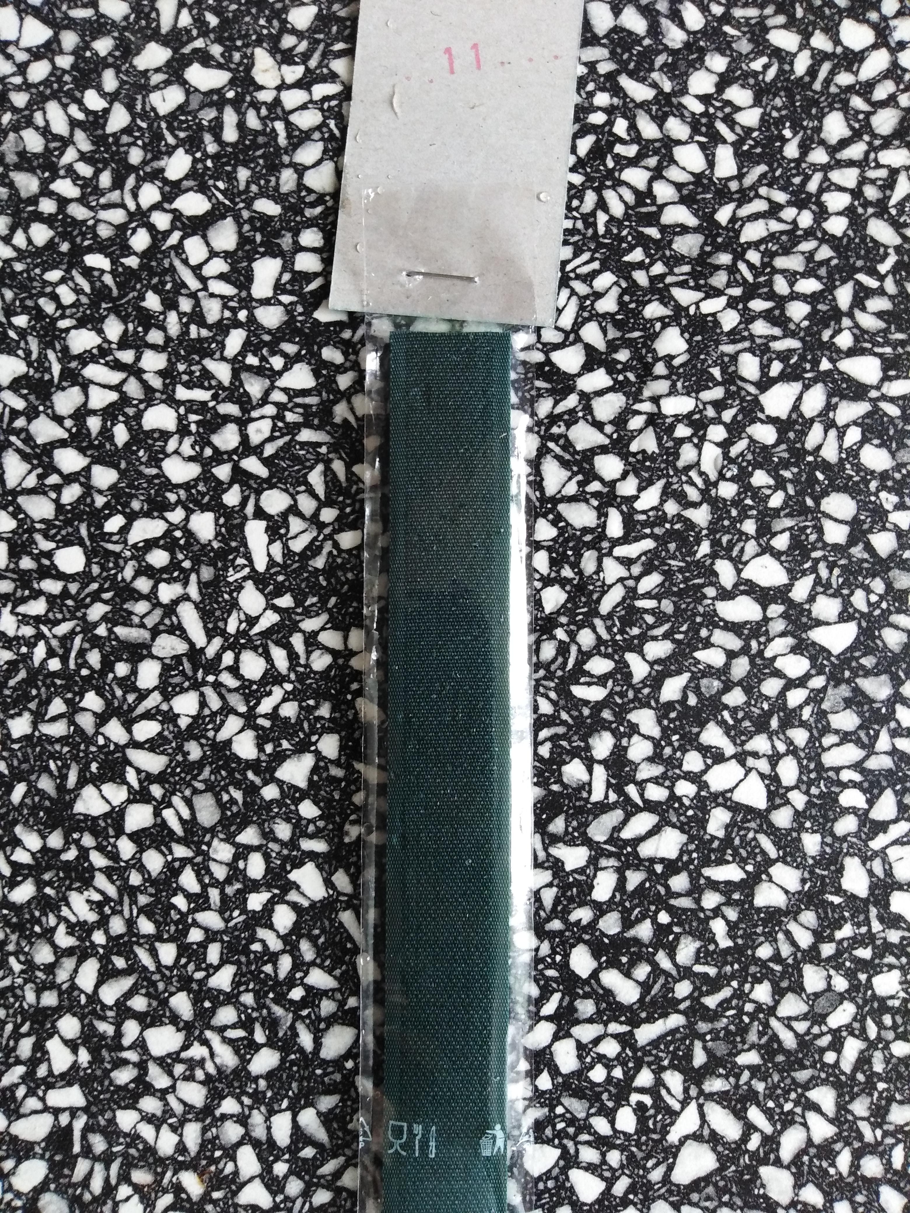 Stuhový uzávěr 20 mm ks 15 cm tmavě zelená