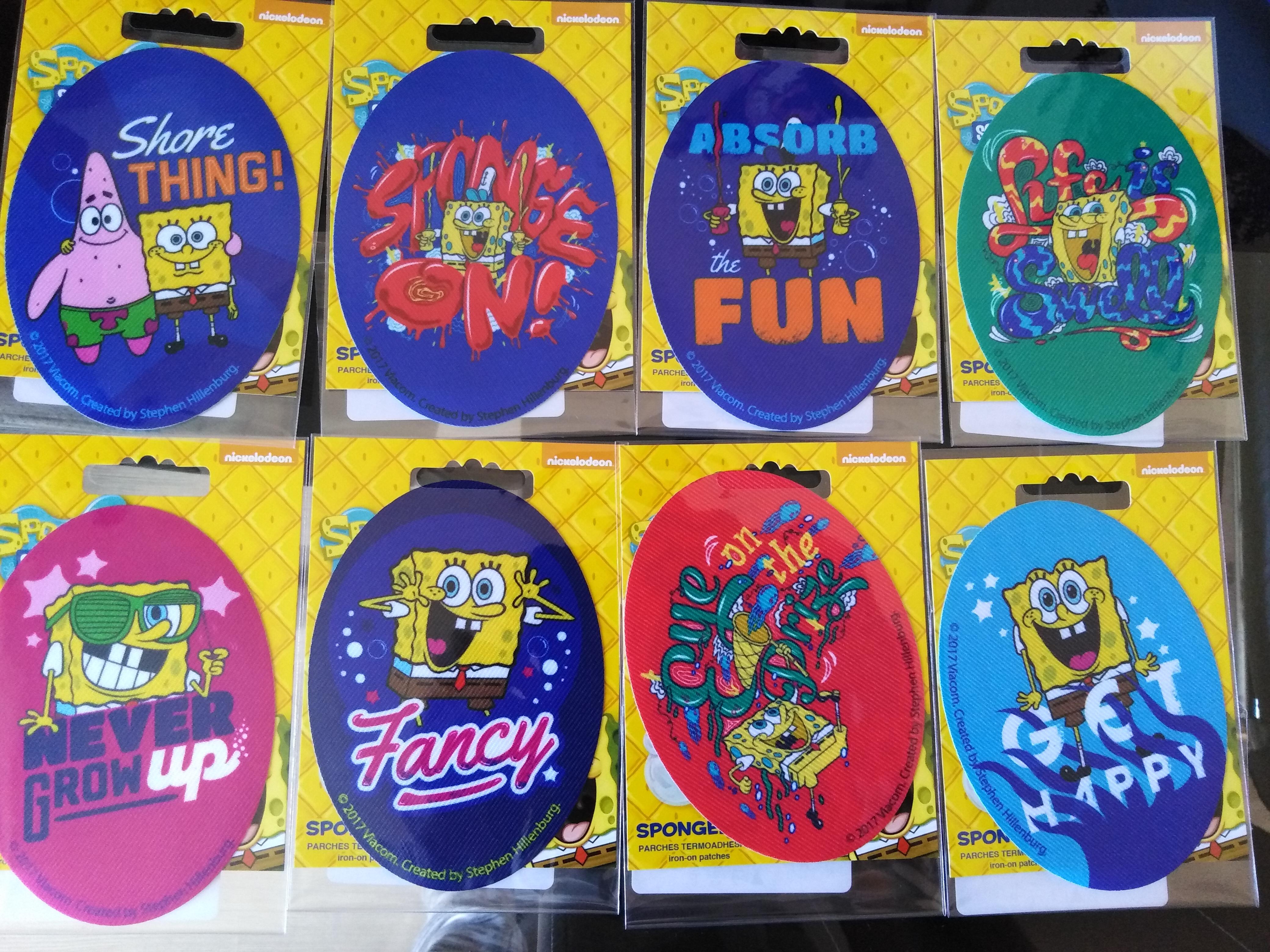 Záplaty nažehlovací Disney SpongeBob