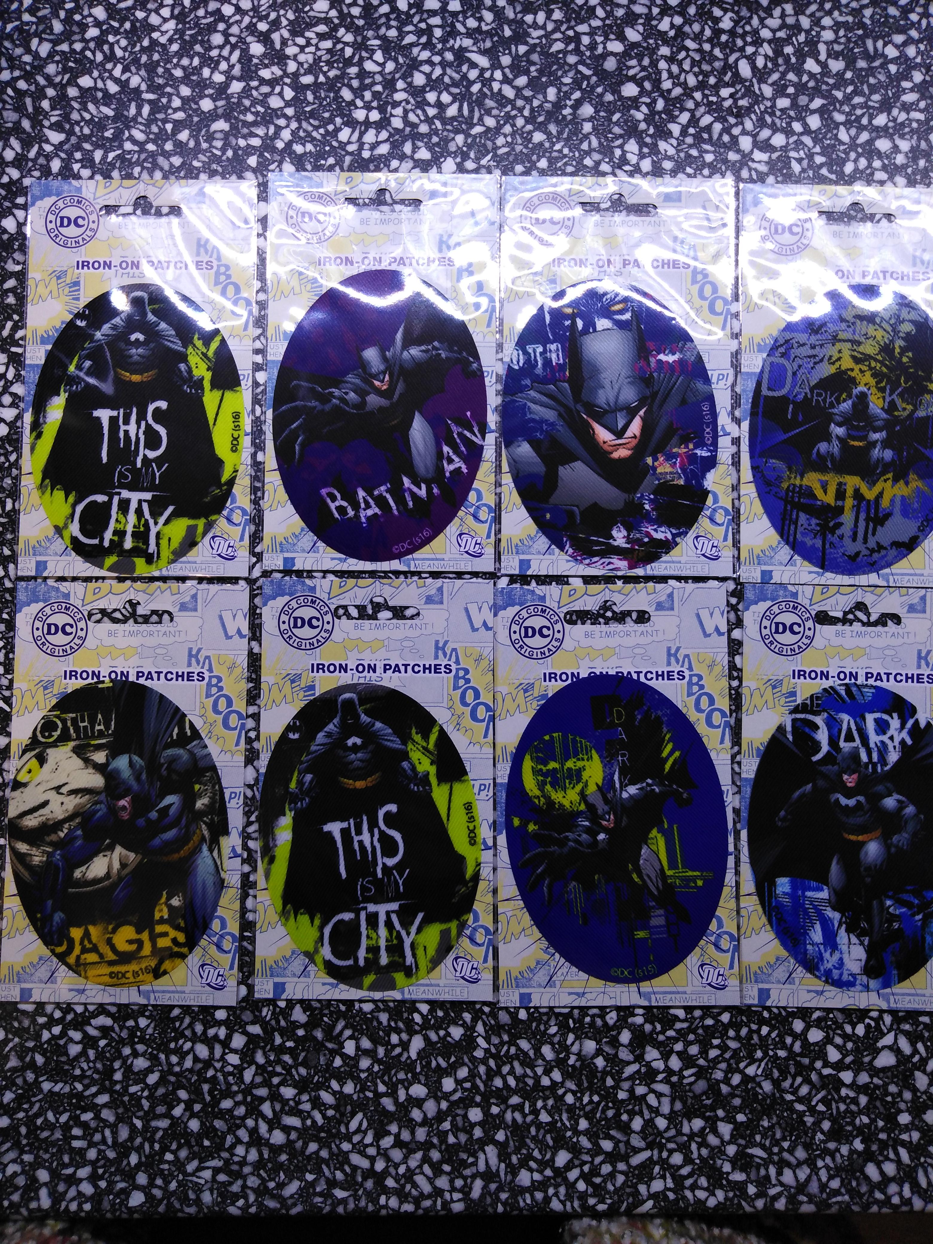 Záplaty nažehlovací Disney Batman