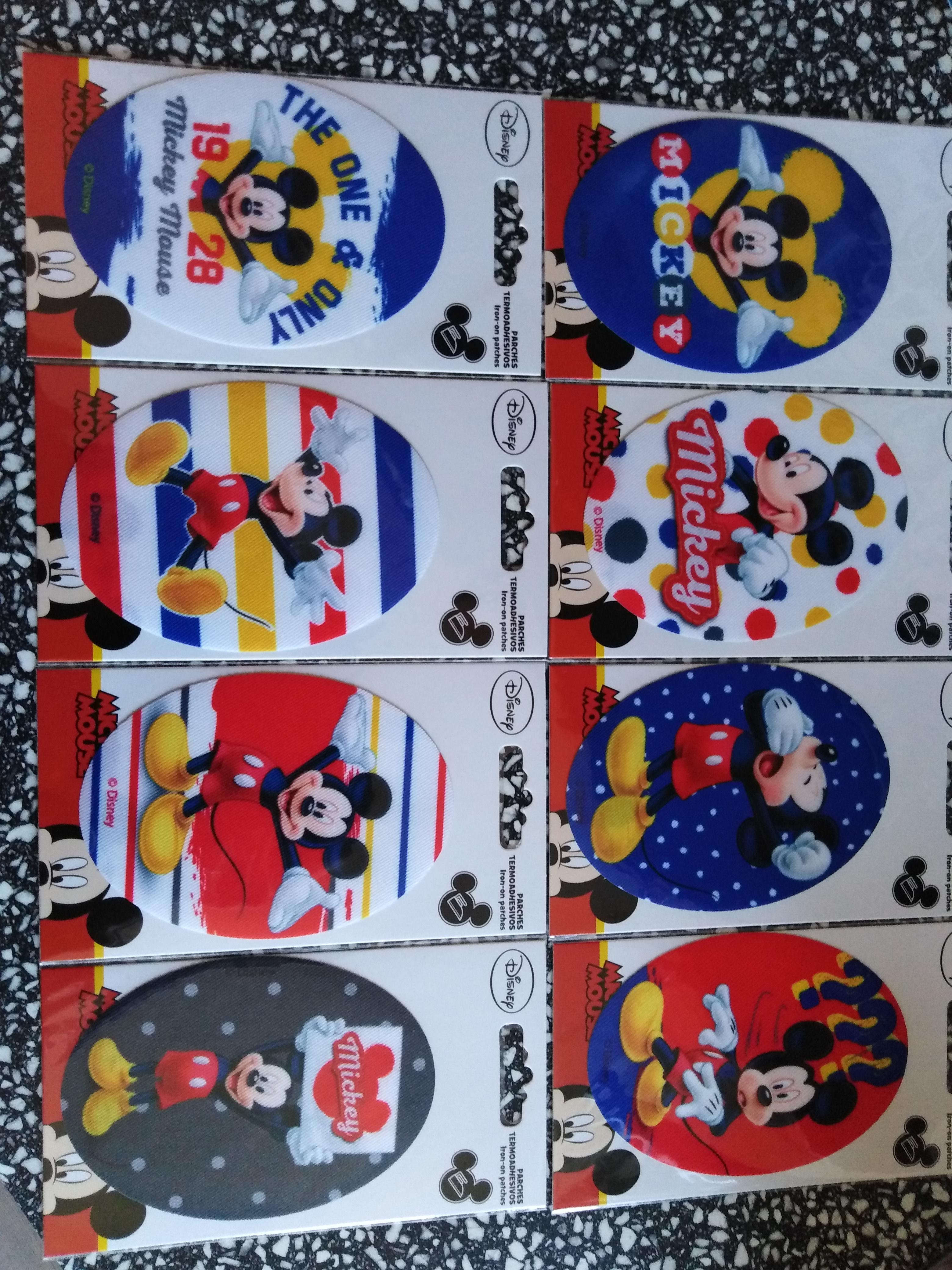 Záplaty nažehlovací Disney Mickey Mouse