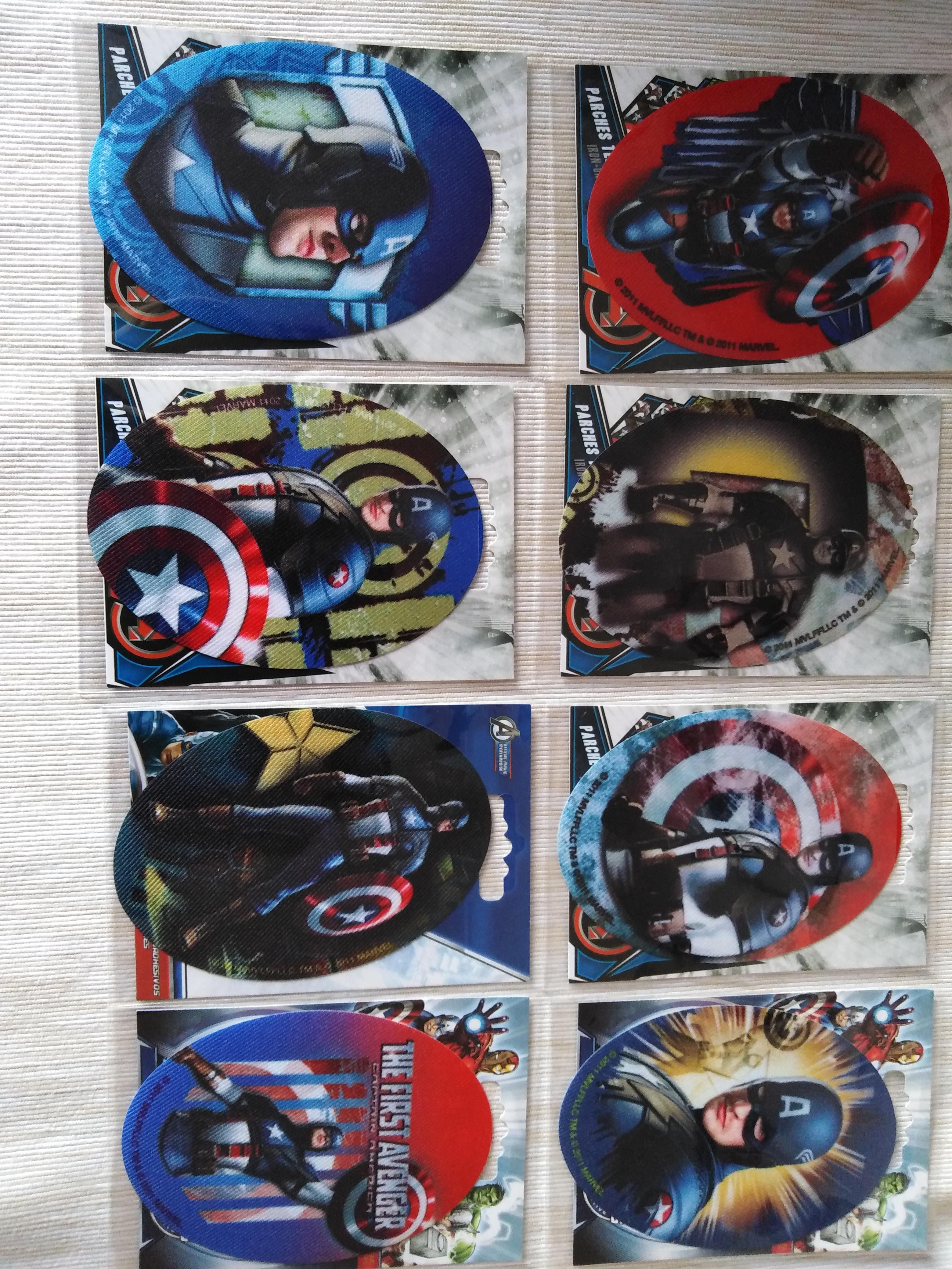 Záplaty nažehlovací Disney Kapitán Amerika
